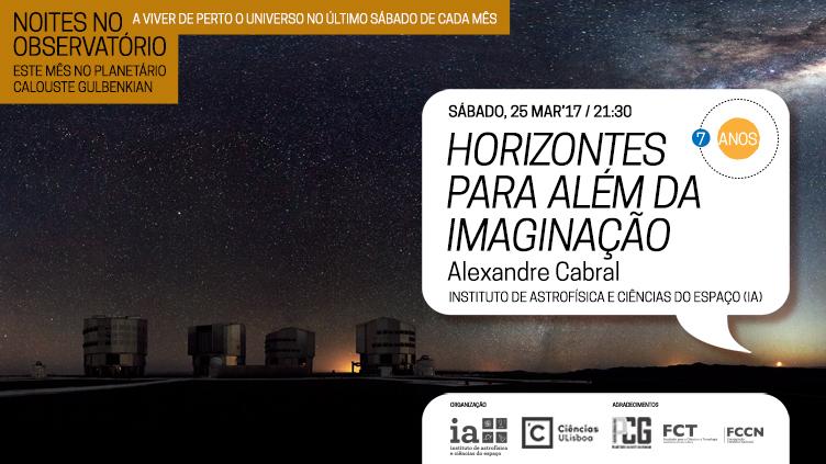 Noites no Observatório - Mar17