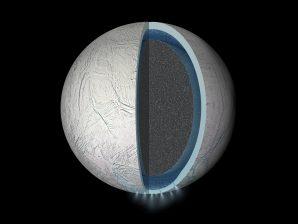 Conceção artística do interior de Enceladus