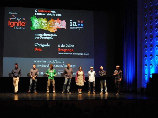 Evento Ignite IAstro em Beja em junho de 2016
