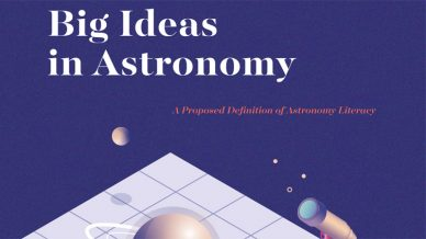 """Document """"Big Ideas in Astronomy: A Proposed Definition of Astronomy Literacy"""""""