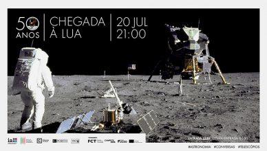 Chegada à Lua - 20 de julho,2019