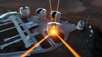 Laser guide-stars at ESO's VLT