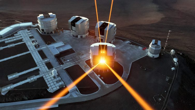 Laser guide-stars at ESO's VLT