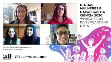 Dia das Mulheres e Raparigas na Ciência 2020 - webinar