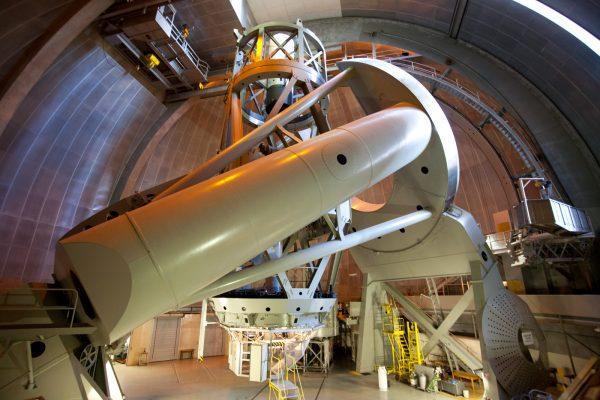 Telescópio Hale, no Observatório do Monte Palomar