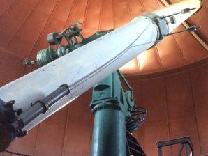 Telescópio do Observatório Astronómico de Lisboa.