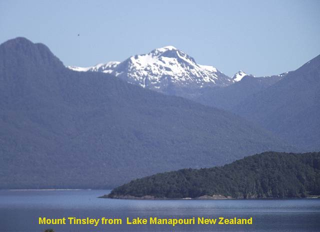 Mount Tinsley, Nova Zelândia