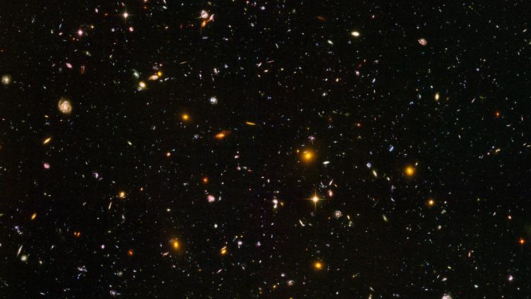 """""""Campo ultra profundo"""" do Hubble"""