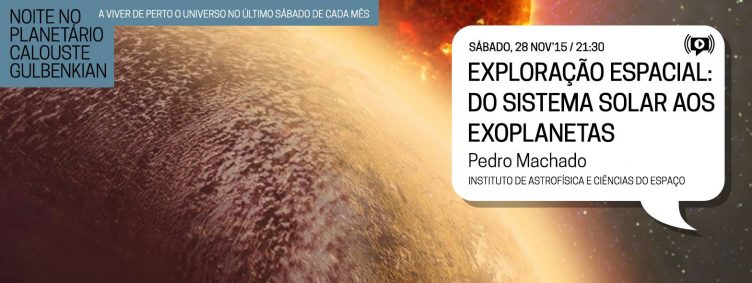 Noites no Observatório – Science and Technology Week 2015