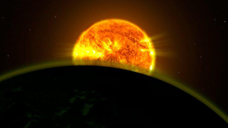 Exoplanet atmosphere