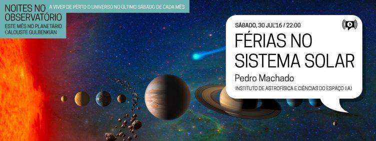Noites no Observatório – Férias no Sistema Solar