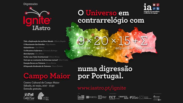 Ignite IAstro - Campo Maior, 20 de maio, 2017
