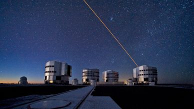 The four VLT telescopes