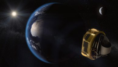 Conceção artística do satélite Ariel