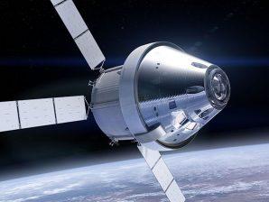 A nave espacial Orion, da NASA, irá transportar astronautas até mais longe no espaço do que alguma vez até agora.