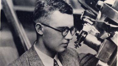Clyde Tombaugh, no Observatório Lowell.