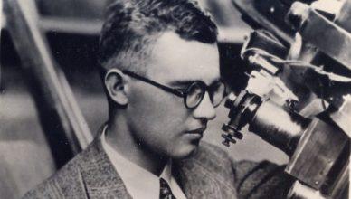 Clyde Tombaugh, no Observatório Lowell.