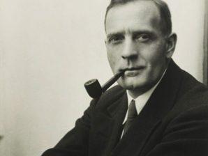 O astrónomo norte-americano Edwin Hubble.