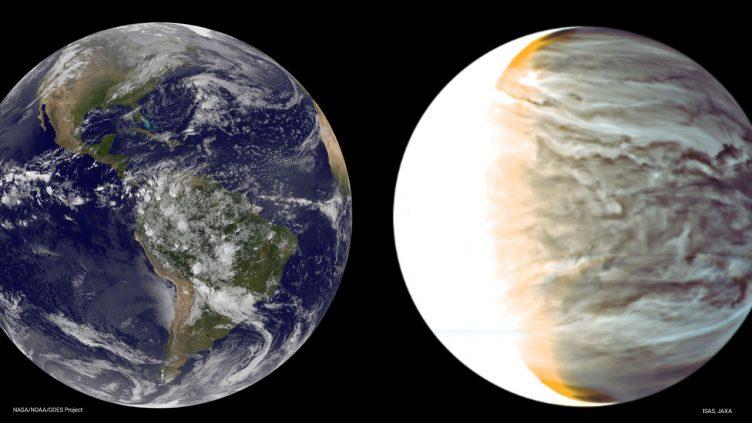 Vénus e Terra
