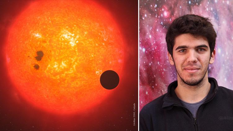 João Faria e os planetas extrassolares