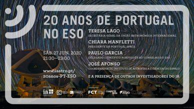 20 anos de Portugal no ESO