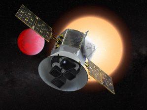 Satélite TESS, da NASA.