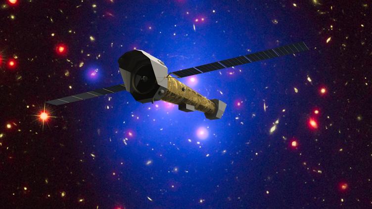 Conceção artística do telescópio espacial Athena