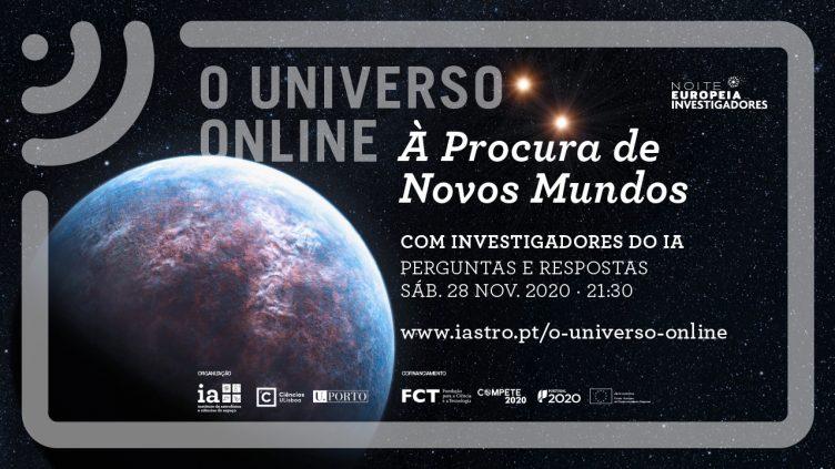 O Universo Online À Procura de Novos Mundos
