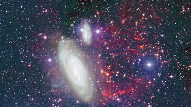 As galáxias NGC 4569 e IC-3583
