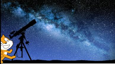Criando com Scratch sobre Astronomia e Tecnologia