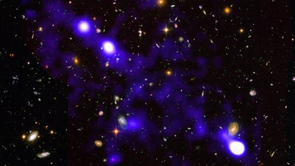 """Primeiras observações de filamentos da """"teia cósmica"""""""
