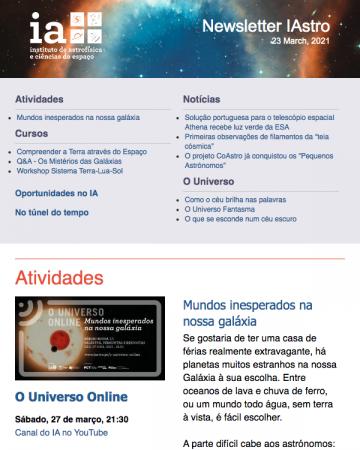 Newsletter IAstro 202103
