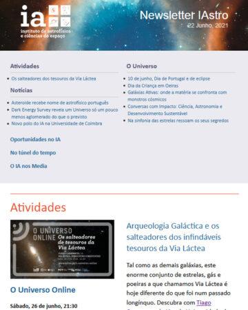 Newsletter IAstro junho 2021