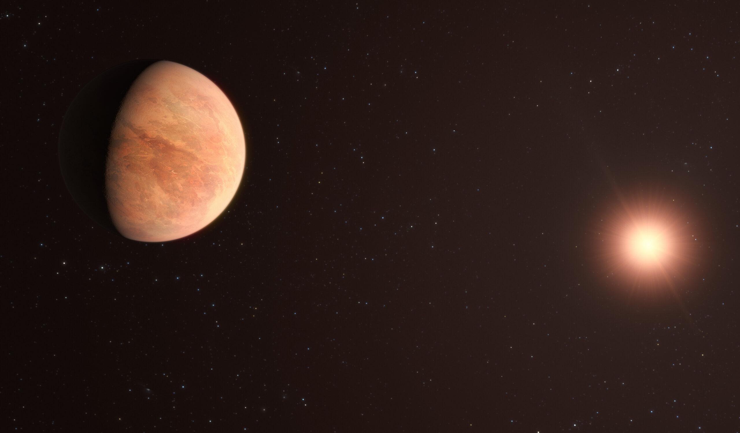 Descoberto exoplaneta rochoso com apenas metade da massa de Vénus