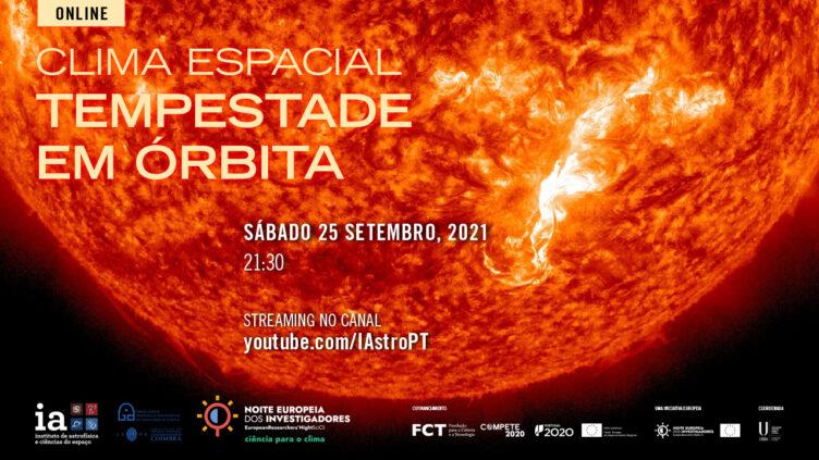 Clima espacial: Tempestade em órbita
