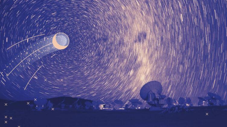 """O céu noturno é rico e dinâmico, do livro """"Grandes Ideias em Astronomia"""