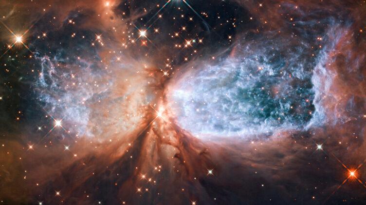 Região compacta de formação estelar Sh 2-106